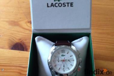 Lacoste Chronograph - neu und unbenutzt - mit Etikette