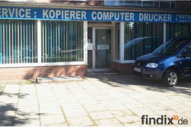 Ladengeschäft mit Toner Express Lieferservice in Hamburger Büros