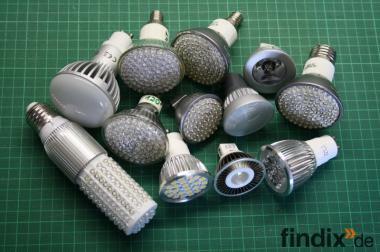Lagerräumung - Verschiedene LED-Leuchtmittel