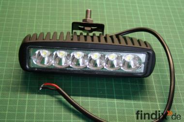LED - Arbeits- o. Rückfahrscheinwerfer 10-30 V - 1250 L - weiß