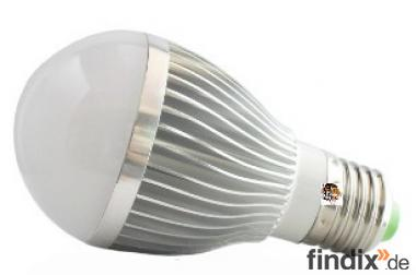 LED - Birne E27 - 290 Lumen - 140 Grad - 3 Watt - warmweiß