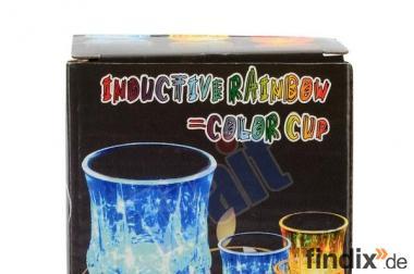 LED Blinkie Becher mit Wasserkontakt mehrfarbig