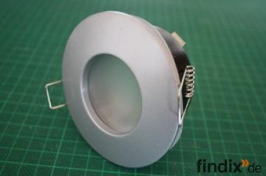 LED-Deckeneinbaurahmen für Bad, Sauna - MR16 o. GU10 - IP65