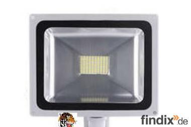 LED - Fluter 50 Watt mit Bewegungsmelder - 4000 Lumen