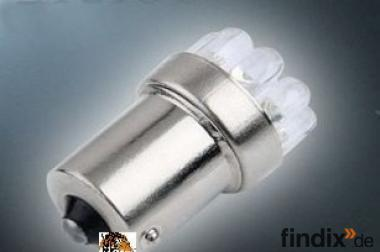 LED-Leuchtmittel BA 15 S - 320 L - weiß