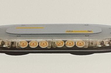LED MINI Lichtbalken SECURO 250 m. Magnet, 12 - 30 V