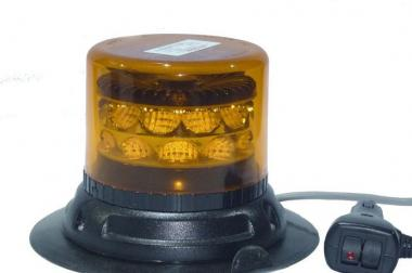 LED Rundumleuchte   GELB,  C 24 Mirage von 911 Signal, Magnetbef.