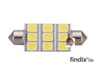 LED - Soffitte 12 Volt - 200 Lumen 39 mm lang - weiß
