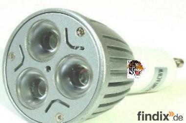 LED-Strahler GU10 - 3 x 2 W - 230 V - 400 L - 45 G