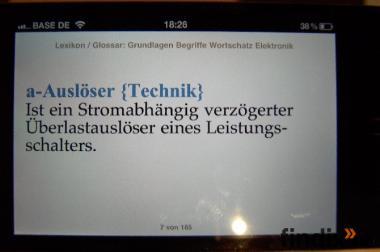 Lexikon Elektronik: Ist auf iPhone / iPad mit iBooks downloadbar