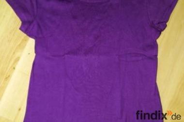 Lila Fishbone T-Shirt Gr.38