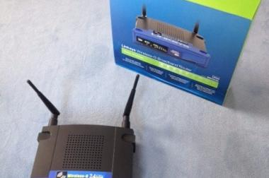 Linksys Wireless-G Broadband Router WRT54GL