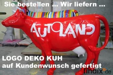Logo Deko Kuh lebensgross nach Ihren Wünschen gefertigt ...