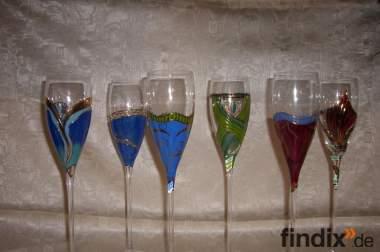 "Luxus-Champagnergläser ""Alta Moda""  (OVP; NP 175 €)"