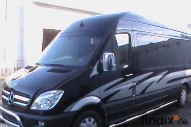 Luxus VIP Sprinter Business Schuttle Limousine stretch Hochtzeit