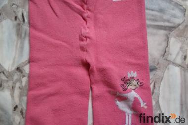 Mädchen Leggingshose,Pink,Größe:74/80