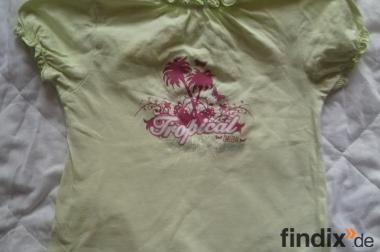 Mädchen T-shirt,Grün,Größe:92
