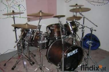 Mapex – DEEP FOREST (Walnuss) Schlagzeug zu verkaufen.