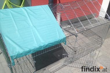 massives Freigehege für Kleintiere aller Art