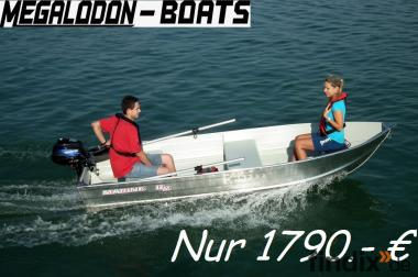 Megalodon  Marine 12 M Arbeitsboot Motor Ruder Boot   Dr