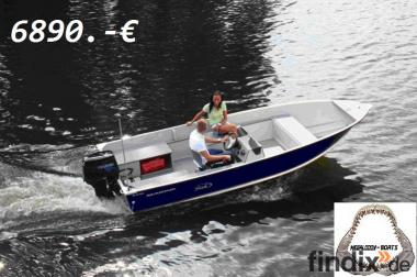 MEGALODON Marine Aluminiumboot 17 FSC  Angelboot kein Linder / PO