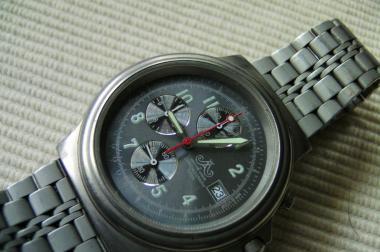 Meister Anker Titanium Herrenchronograph