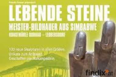 Meister-Bildhauer aus Simbabwe