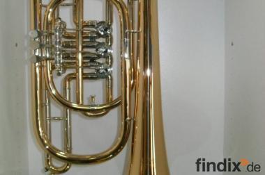 Meister Dotzauer Goldmessing Basstrompete in Bb. Neuware Handmade