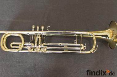 Meister J. Scherzer Basstrompete in Es / Eb. Generalüberholt