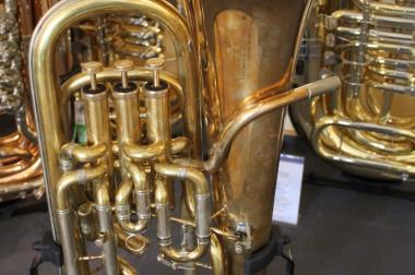 Melton 451 Euphonium voll kompensiert. Goldmessing + Trigger