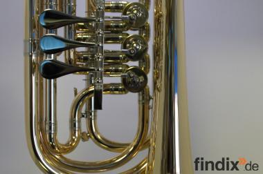 Melton Basstrompete, Mod. 129, Goldmessing - Einzelanfertigung