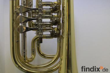 Melton Profiklasse Basstrompete in Bb, Mod. 129, Neuware inkl. Ta