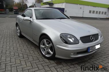 Mercedes SLK 230 Kompressor wenig KM neuer Preis