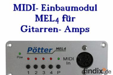 MIDI Controller für Gitarren Keyboards Fußschalter Fingertip