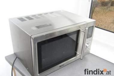Mikrowelle mit Heißluft und Doppelgrill