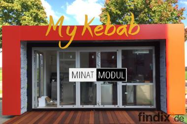 MINAT MODUL - Mobile Imbiss Container, Shops, Cafe, Hotel, Büro