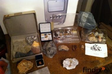 Mineralsteinsammlung