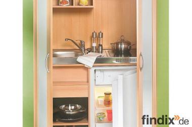 Miniküche in Schrankform ...