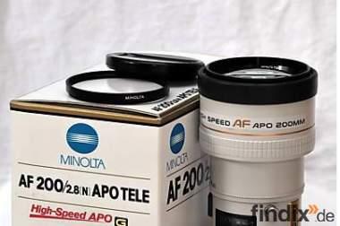 Minolta AF 200mm f/ 2.8 G Sony Alpha z.B 900 HighEnd 1A