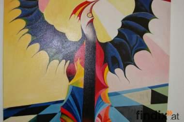 Moderne einzigartige Ölmalerei: Titel Koko