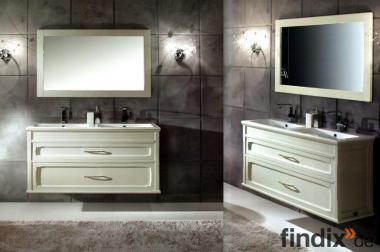 Modernes Doppelbadmöbel der Serie Ambra