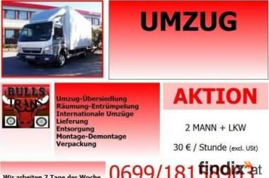 Möbeltransport Umzug Österreichweit Günstig!! 069918158963
