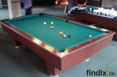 Monza 9 Fuss Turnier Pool-Billardtisch Billard deutsches Fabrikat