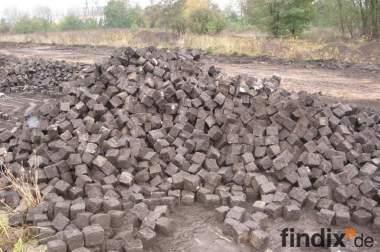 Natursteinpflaster Granit, gebraucht, zu verkaufen