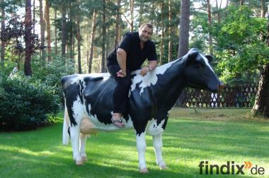 ne Holstein - Friesian deko kuh zum aufsitzen neues Modell