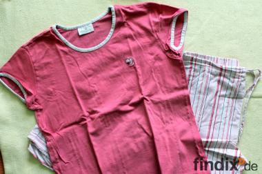 Netter kurzärmliger Schlafanzug in der Gr.S mit langer Hose