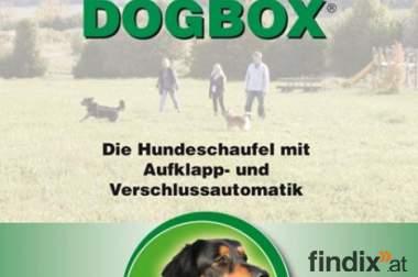 NEU! DOGBOX® - die Hundeschaufel mit Aufklapp- und Verschlussauto