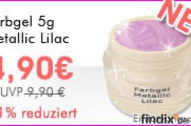 NEU Farbgel metallic Lilac zum Toppreis