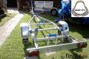 NEU MARLIN Bootstrailer Bootsanhänger 500/750/1000 Kg