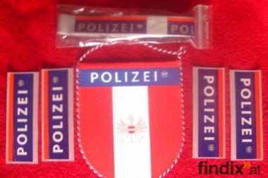 NEU OVP. 7 tlg. Polizei Österreich Set!